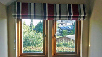 Striped Roman Blind
