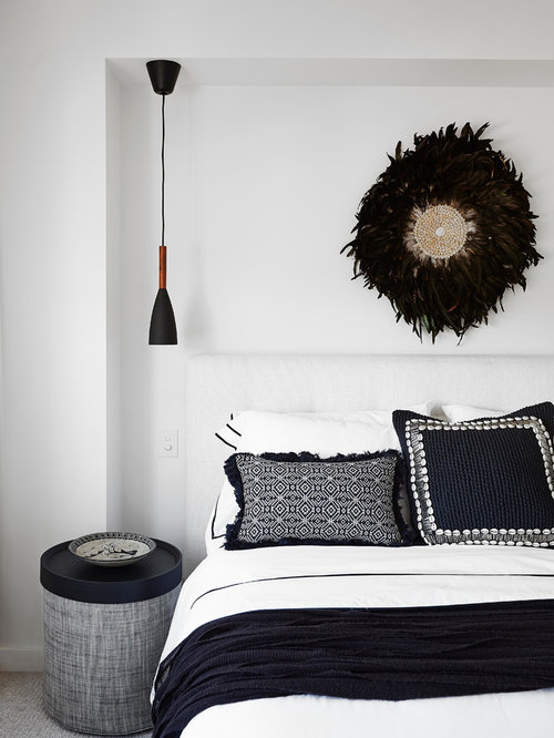 Inspiration For A Contemporary Bedroom In Sydney. Save Photo