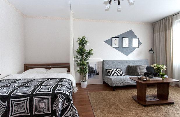北欧 ベッドルーム by Anna Kovalchenko Interiors