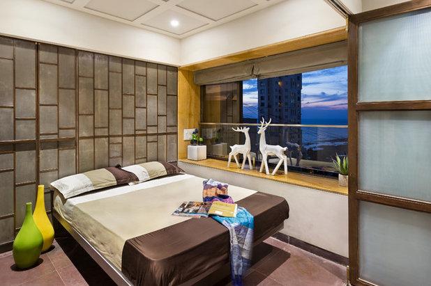 Contemporary Bedroom by Studio Osmosis