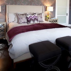 Eclectic Bedroom by viney and p
