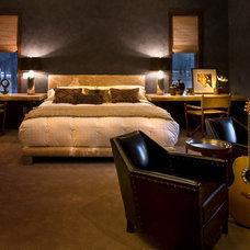 Rustic Bedroom by Studio D - Danielle Wallinger