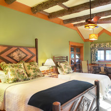 Rustic Bedroom by The McKernon Group