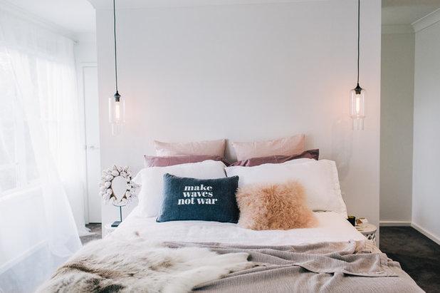 Scandinavian Bedroom by Claudia Stephenson Interiors