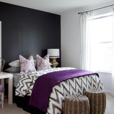 Eclectic Bedroom by Dayka Robinson Designs