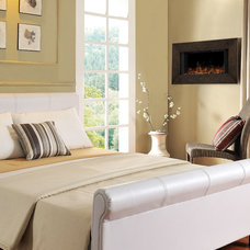 Contemporary Bedroom by Electric Fireplaces Direct