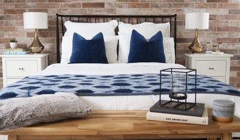 Stylish Loft-Style Guest Room