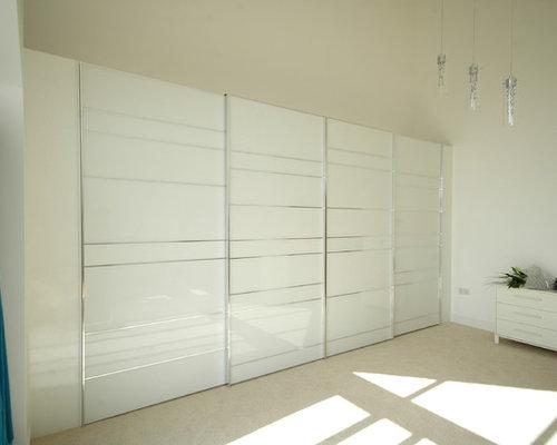 Sliding door wardrobes houzz for Decolam designs for bedroom