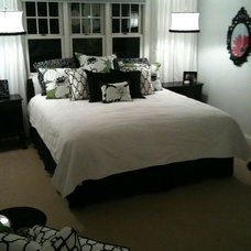 Contemporary Bedroom by Chartreuse Design, Ltd.