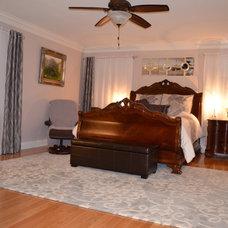 Traditional Bedroom suburban maryland home