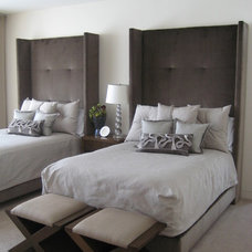 modern bedroom by Walsh Design Group, Inc.