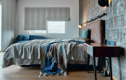 How to Make Over Your Bedroom With One Wall of Colour