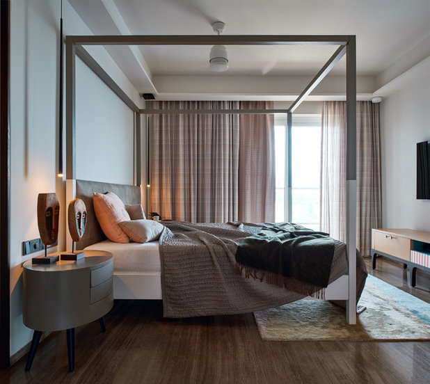 Contemporary Bedroom by Fadd Studio