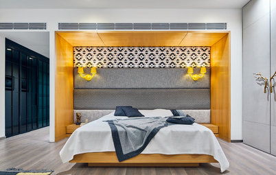 25 Unique Wall Panelling Ideas To Accent The Wall Behind The Bed