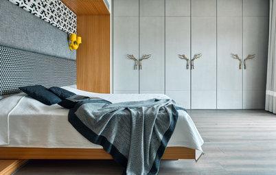 25 Super Stylish & Functional Wall-to-Wall Wardrobe Designs