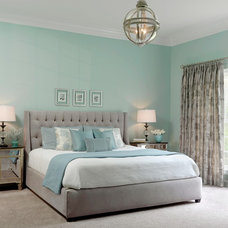 Transitional Bedroom by Tamsin Design Group