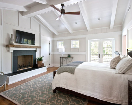 White Wall And Ceiling Houzz