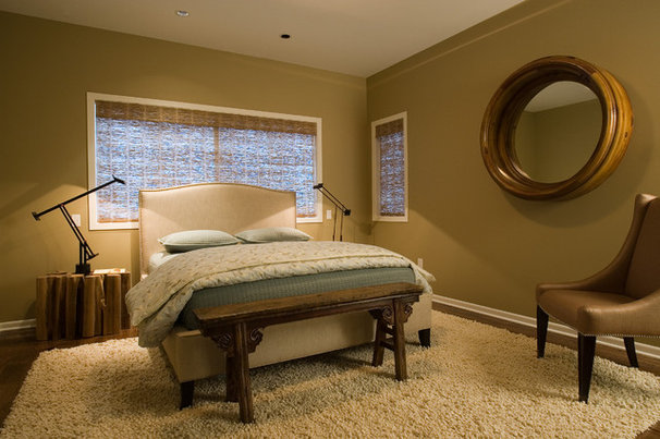 Contemporary Bedroom by Nora Schneider Interior Design