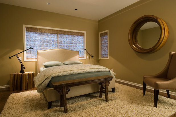 Contemporary Bedroom by Nora Schneider Interior Design
