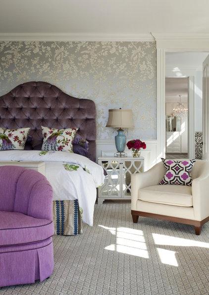 Traditional Bedroom by Robin Pelissier Interior Design & Robin's Nest