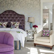 Traditional Bedroom by Robin Pelissier Interior Design & Robin's Nest