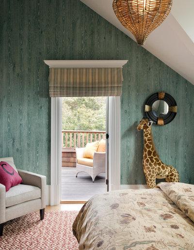Contemporary Bedroom by Robin Pelissier Interior Design & Robin's Nest