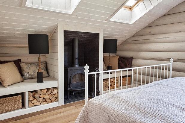 Farmhouse Bedroom by I.D.interior design