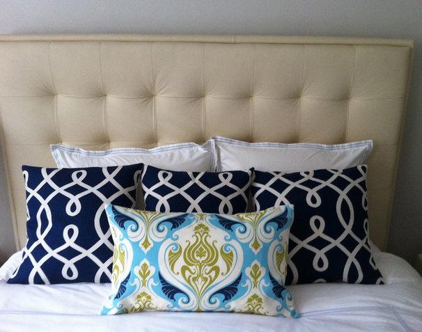 Mediterranean Bedroom by ZZZ Boutique