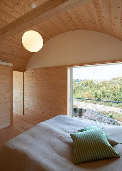 Contemporary Sovrum by Arkitekt Mats Fahlander