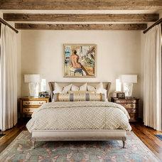 Mediterranean Bedroom by Stocker Hoesterey Montenegro