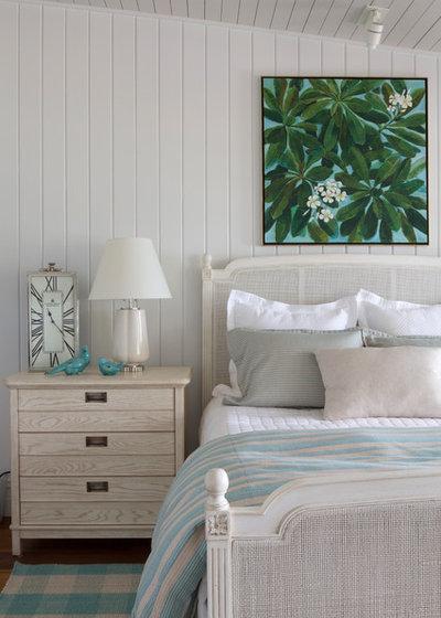 Tropical Bedroom by JZMK Partners