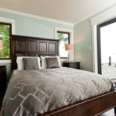 Contemporary Bedroom by Beyond Beige Interior Design Inc.