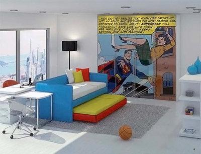 Bedroom Superhero rooms