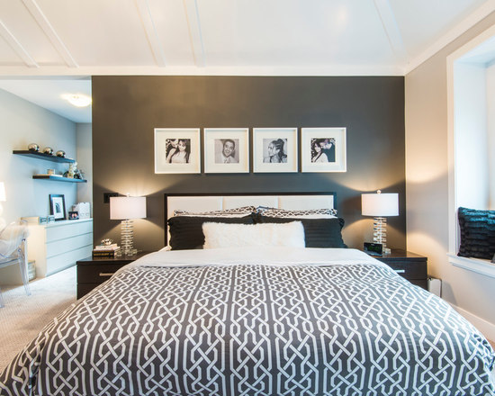 Green And Black Bedroom green white and black bedrooms | houzz