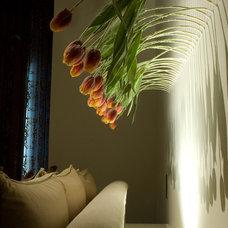Modern Bedroom by Susan Newell Custom Home Builder, Inc.