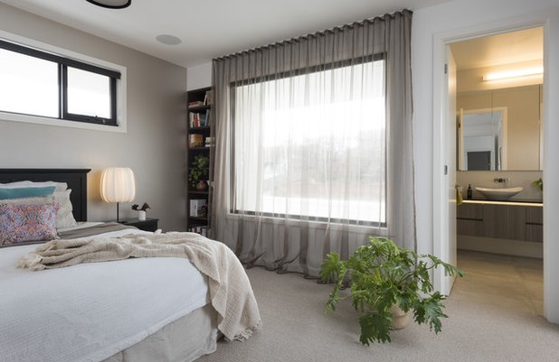 Contemporary Bedroom by White Pebble Interiors