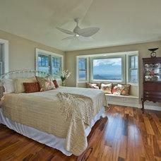 Tropical Bedroom by Archipelago Hawaii Luxury Home Designs