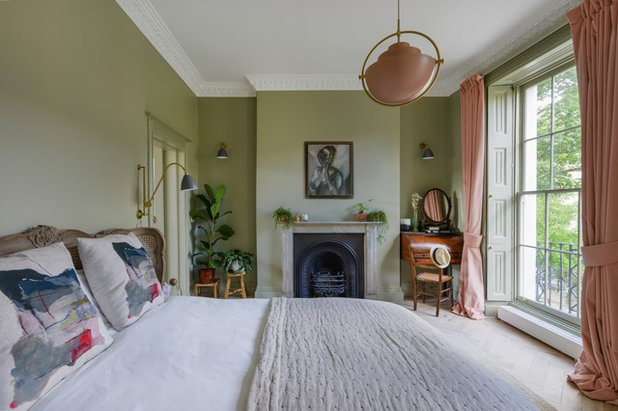 Eclectic Bedroom by ALL & NXTHING