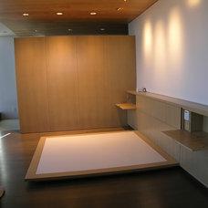 Modern Bedroom by Master Woodworks inc