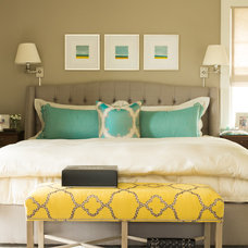 Transitional Bedroom by Nifelle Design - Fine Interiors