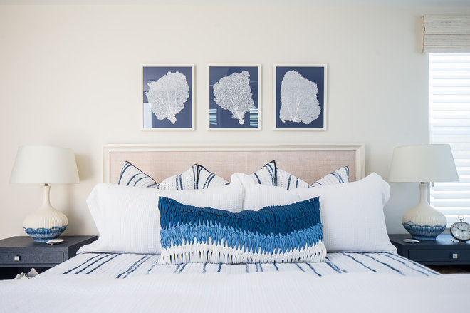 Beach Style Bedroom by Tracy Lynn Studio
