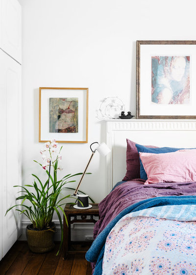 Eclectic Bedroom by Kim Pearson Pty Ltd