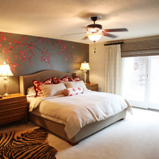 Eclectic Bedroom by fusion designs