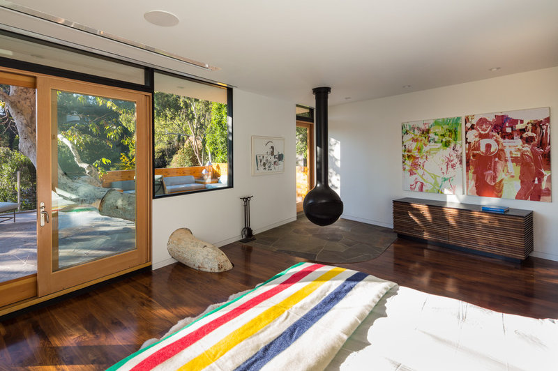 Contemporary Bedroom by ANX / Aaron Neubert Architects