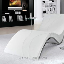 modern day beds and chaises by RoomService 360