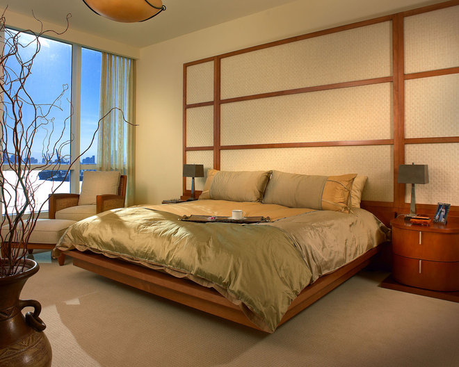Contemporary Bedroom by Causa Design Group