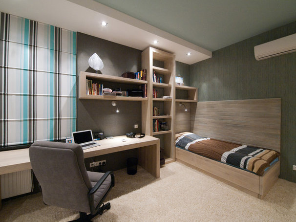 """Contemporary Home Office by Architectural Studio """"Didencul Project"""""""