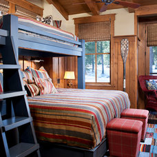 Rustic Bedroom by Vallone Design