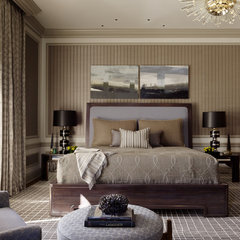 contemporary bedroom by Jeffers Design Group