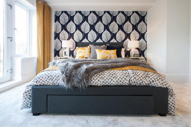 コンテンポラリー 寝室 by Jigsaw Interior Architecture